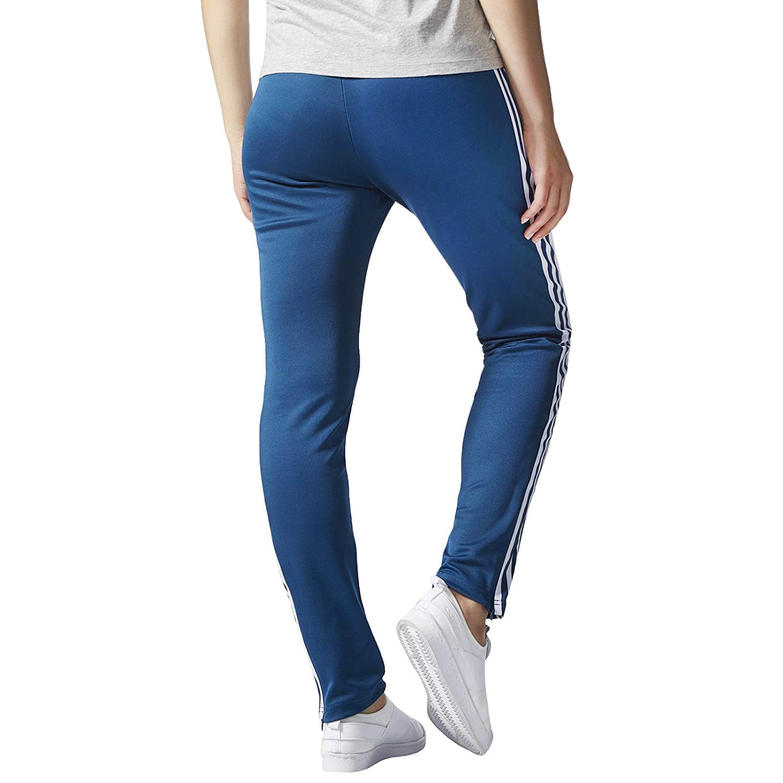 3cf3be7a33668f adidas Originals Europa TP Damen Trainingshose Sporthose Hose Track Pants  Blau Kleidung   Accessoires Sportunterteile