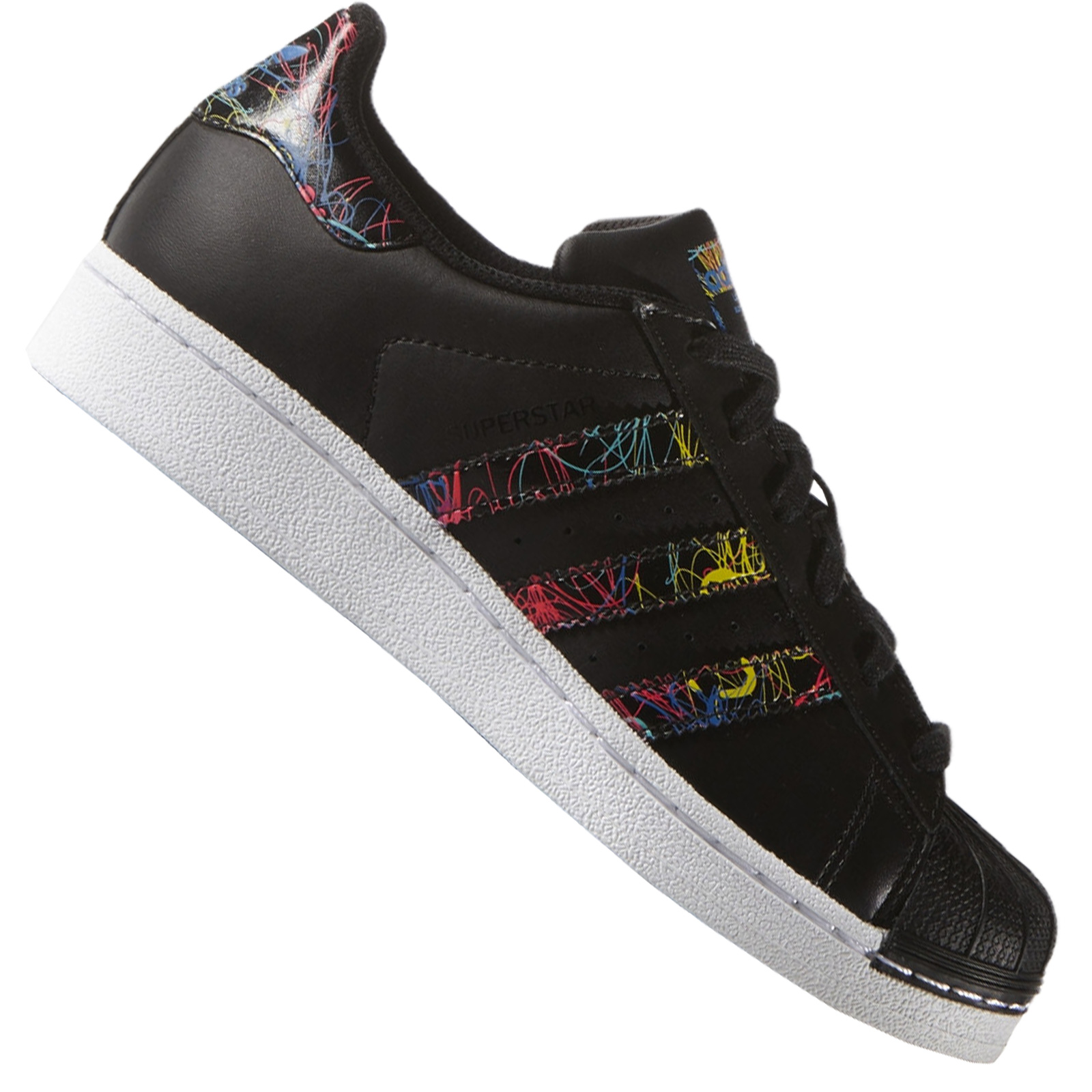 adidas originals superstar damen schwarz