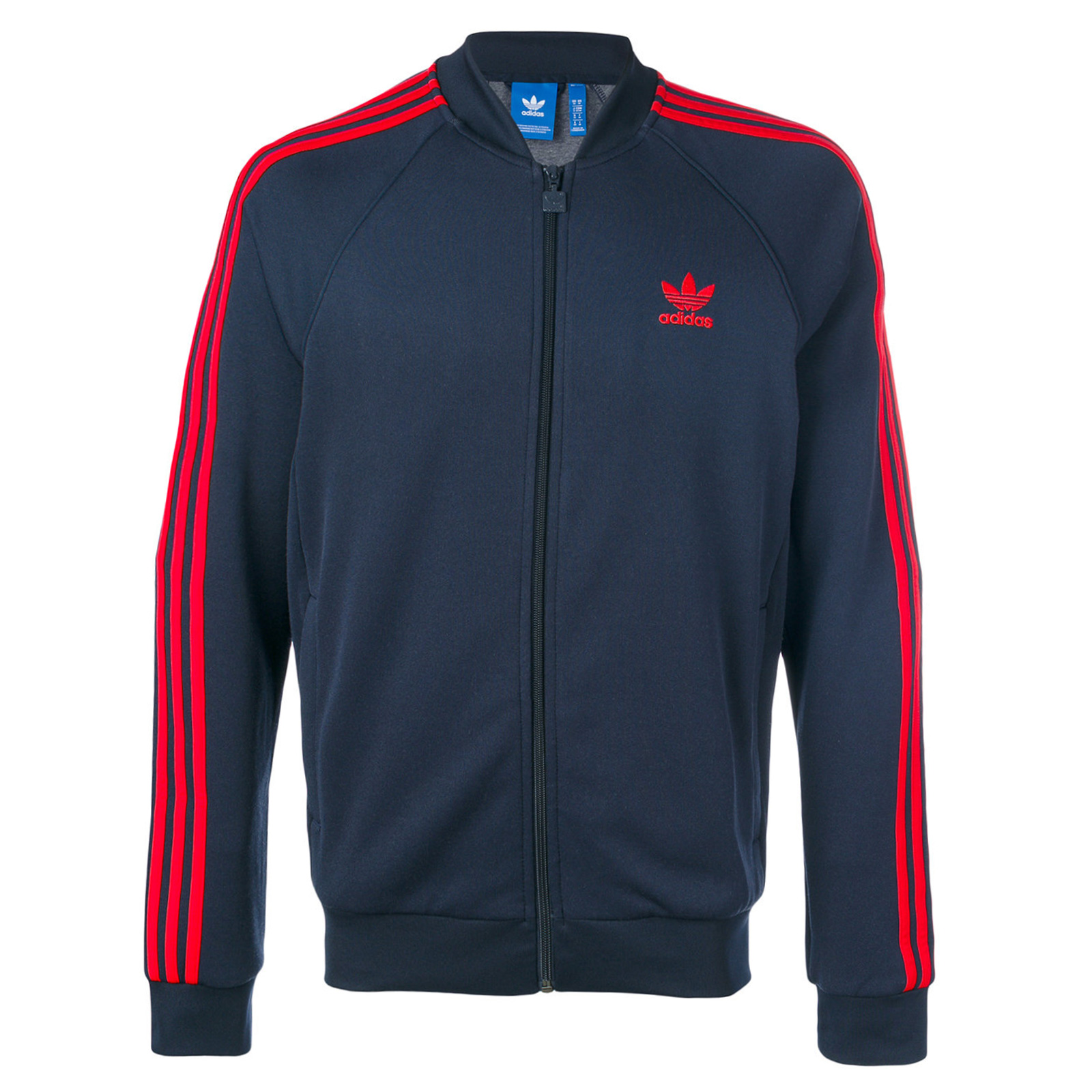 fast delivery new arrivals hot product Details about Adidas Originals Superstar Track Top Tp Firebird Track Jacket  Navy Red