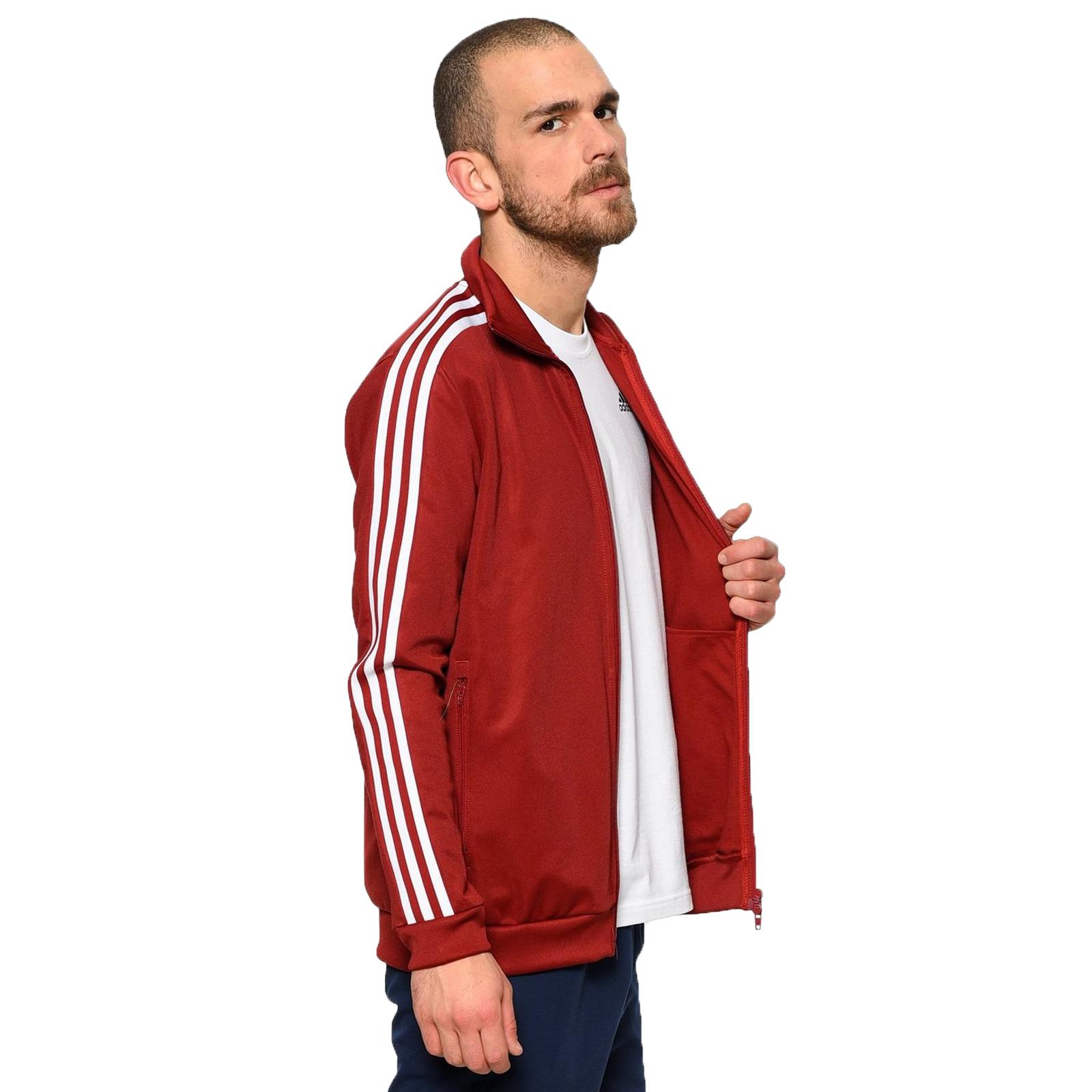 Rot Adidas Originals Beckenbauer Track Tops Herren Günstig