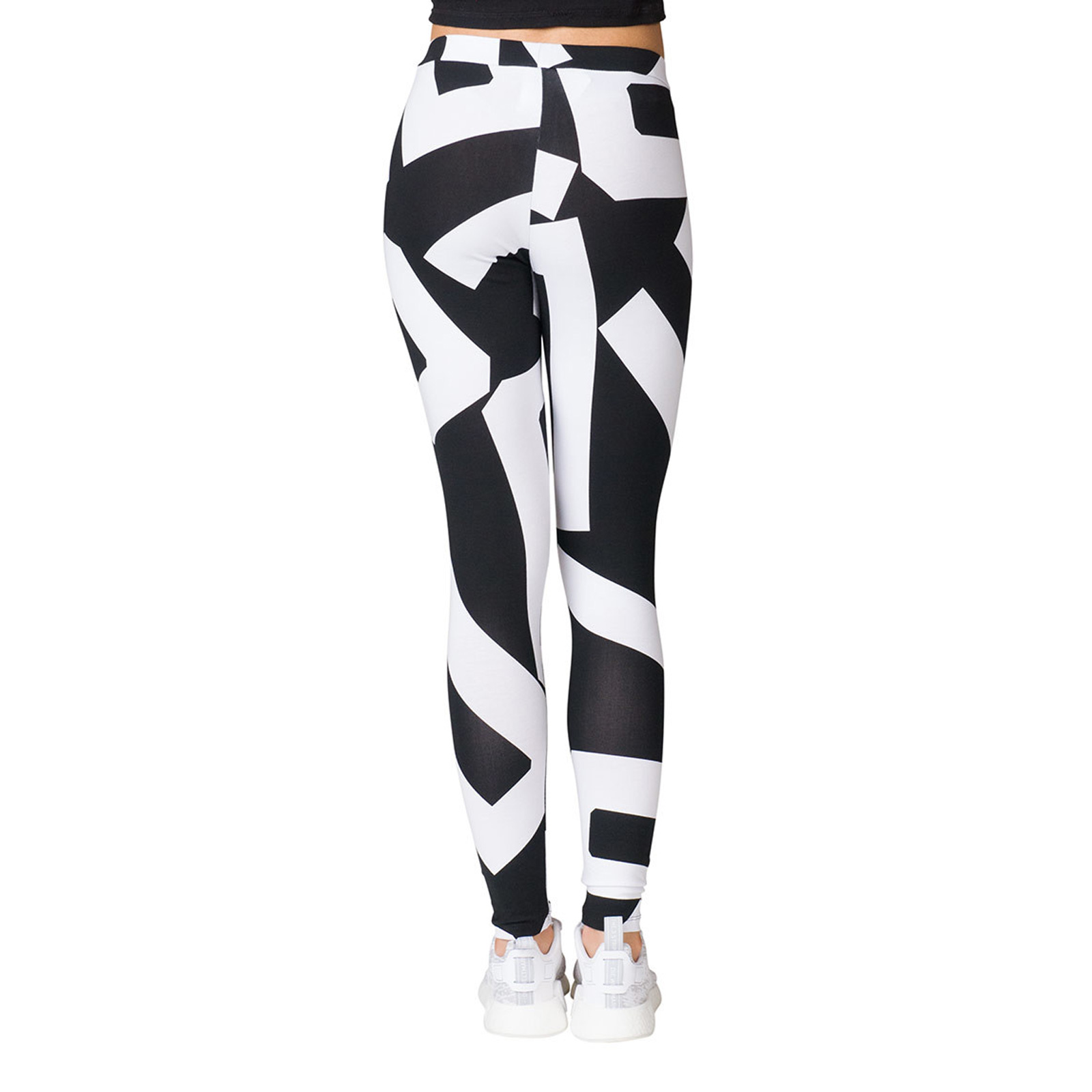 19f74ffb38c536 didas Originals Bold Age Letters Damen Leggings Sport Tight Yoga Fitness  Hose