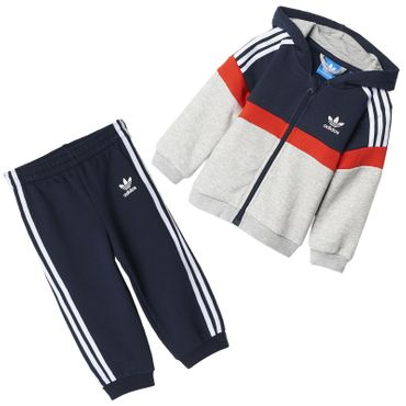 ADIDAS ORIGINALS Hooded Fleece Suit – Bild 1