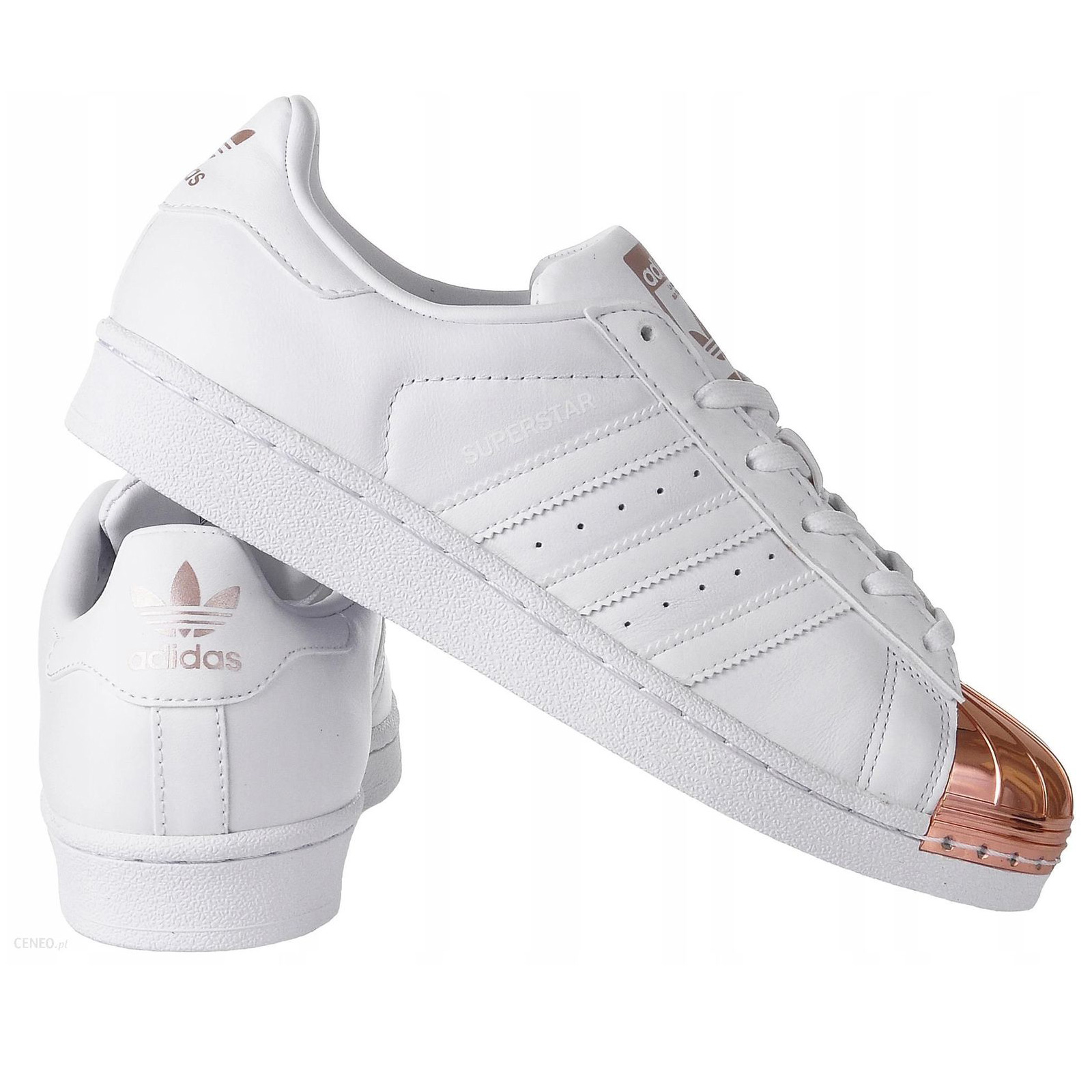 biggest discount stable quality official photos ADIDAS ORIGINALS SUPERSTAR METAL TOE BY2882 DAMEN SNEAKER LEDER WEISS GOLD