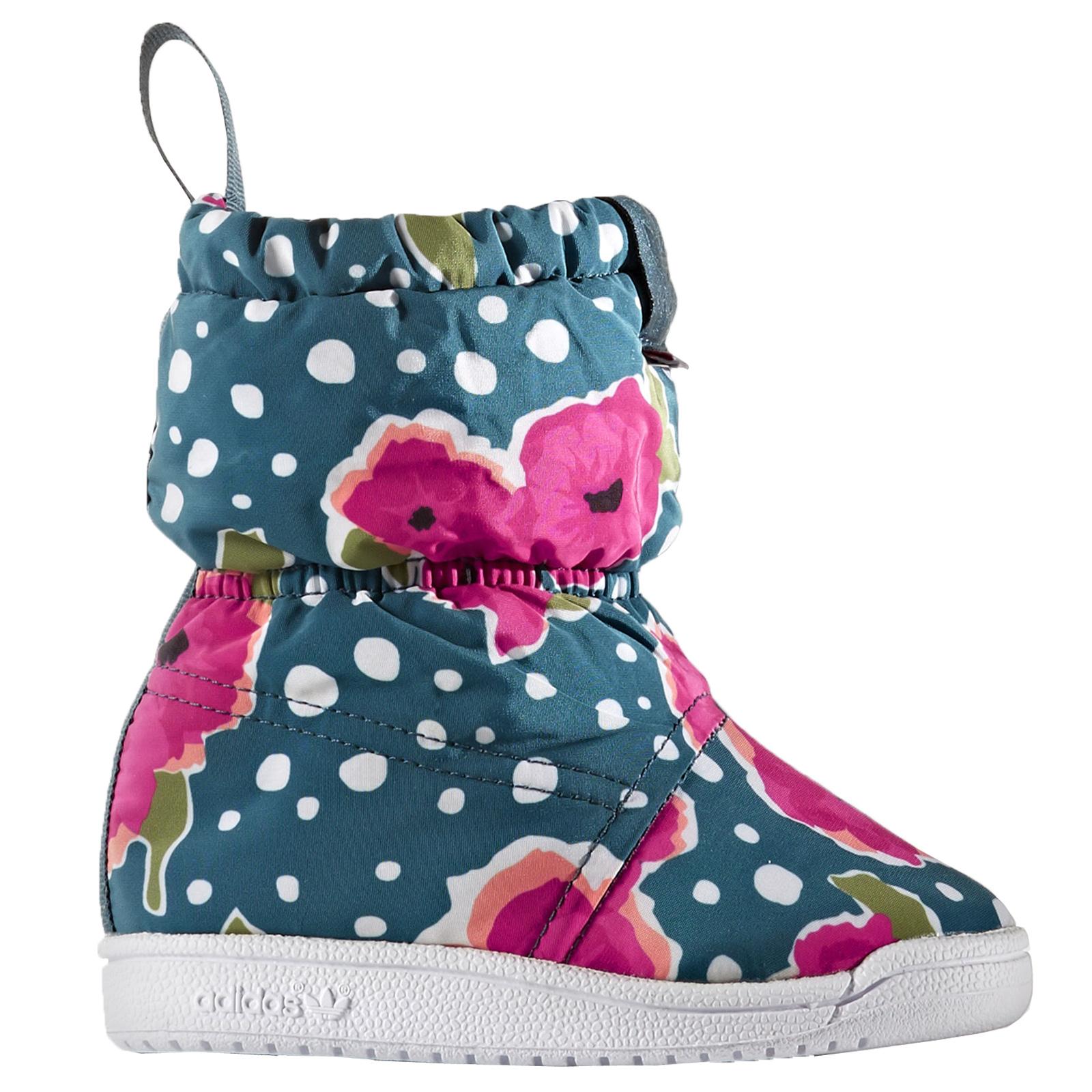buy online 5e569 7bdd1 adidas Baby Winter Boot Kinder Schnee Stiefel Winterschuhe dick gefüttert  Blumen
