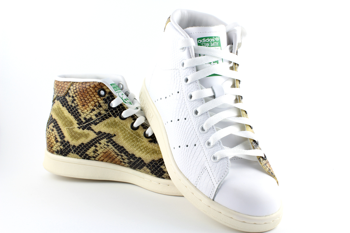 meilleures baskets ef01e a730c Details about Adidas Originals Stan Smith mid Sneaker Special Edition Snake  S77451