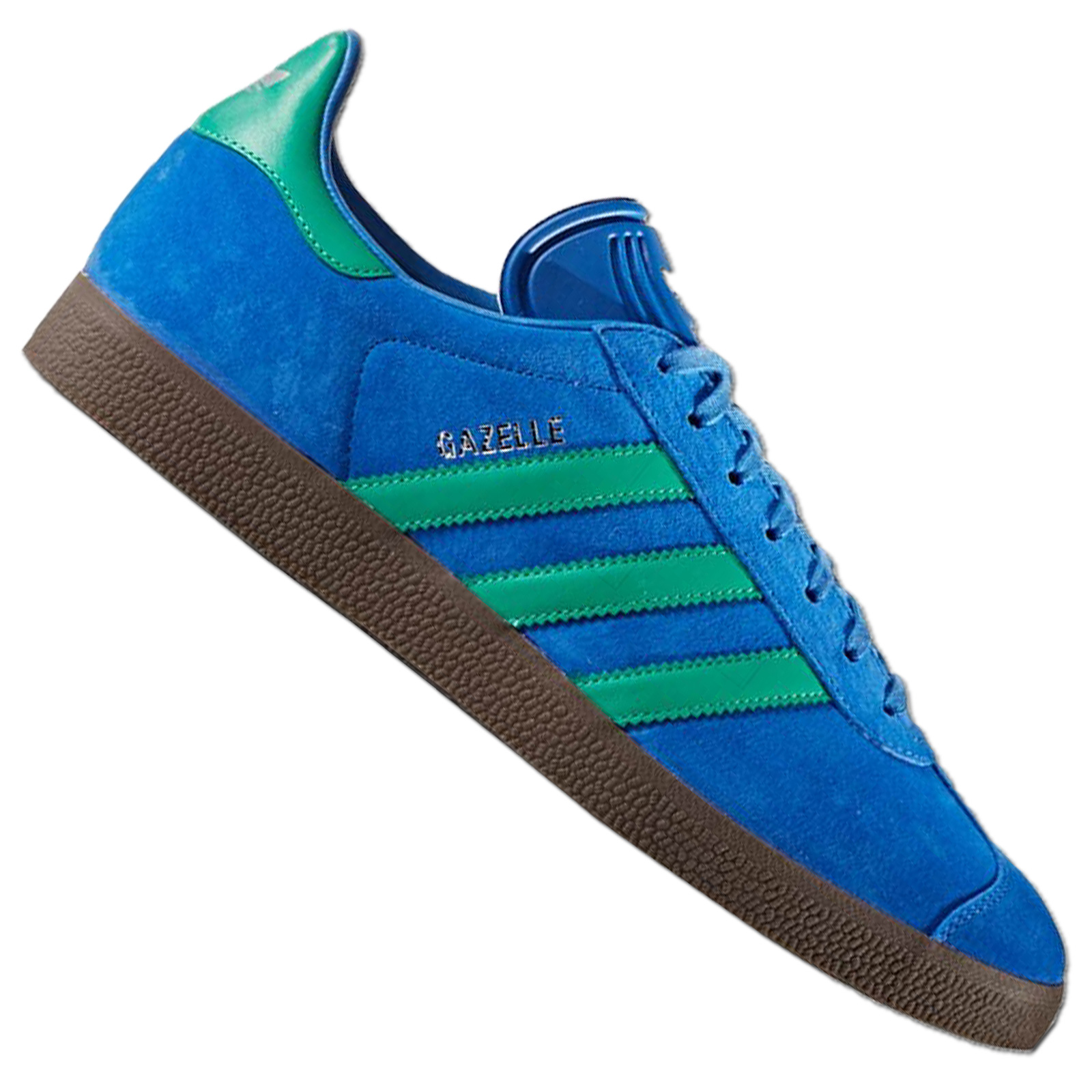 Details about Adidas Originals Gazelle Women's Sneakers Bb2755 Suede  Trainers Blue Green