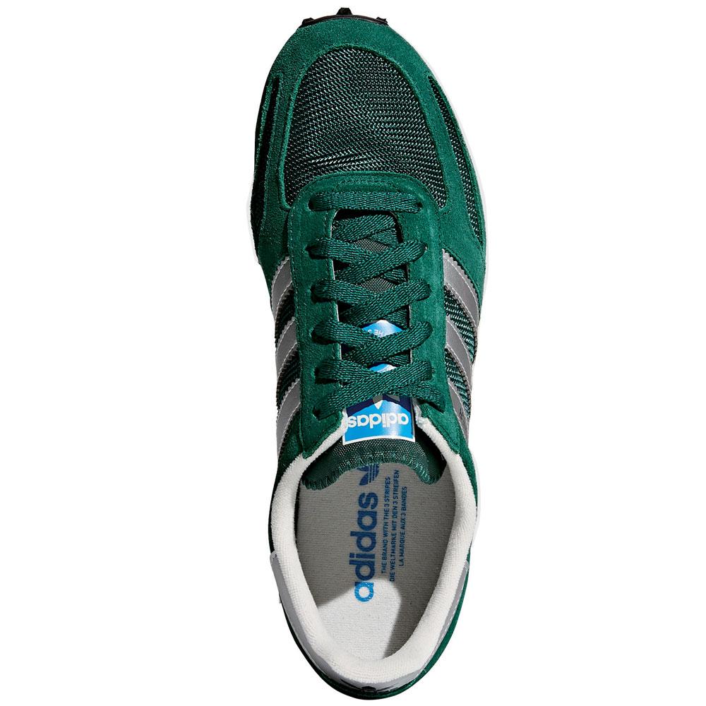 adidas Originals La Trainer Damen Sneaker Freizeit Schuhe Grün BY9325
