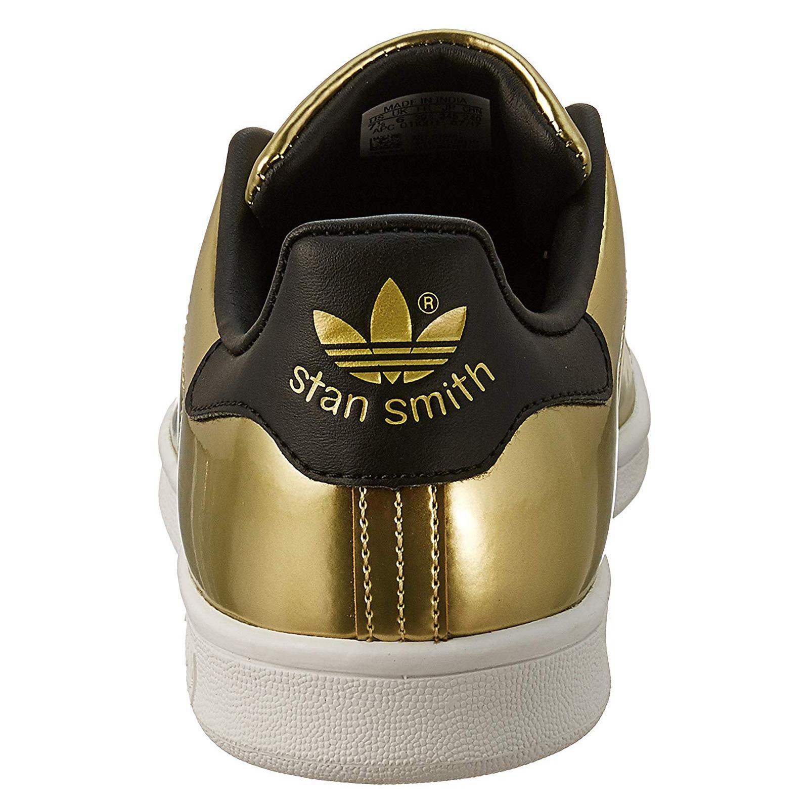 adidas Originals Damen Stan Smith Sneakers, Metall
