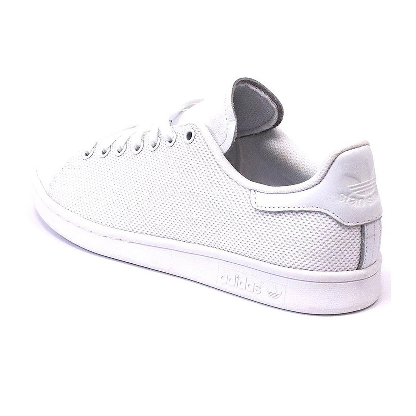 adidas Originals Stan Smith Clean White Herren Sneaker Turnschuhe Weiß BB4998