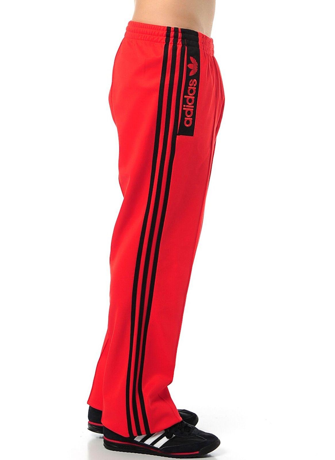 adidas Originals Beckenbauer TP Track Pants Herren Trainingshose Hose Rot Z34681
