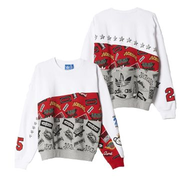 ADIDAS ORIGINALS X NIGO Jams Blocked Crew Sweatshirt – Bild 2