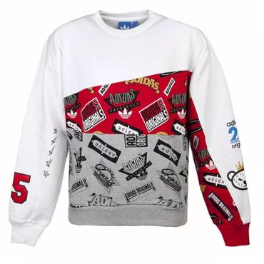 ADIDAS ORIGINALS X NIGO Jams Blocked Crew Sweatshirt – Bild 1
