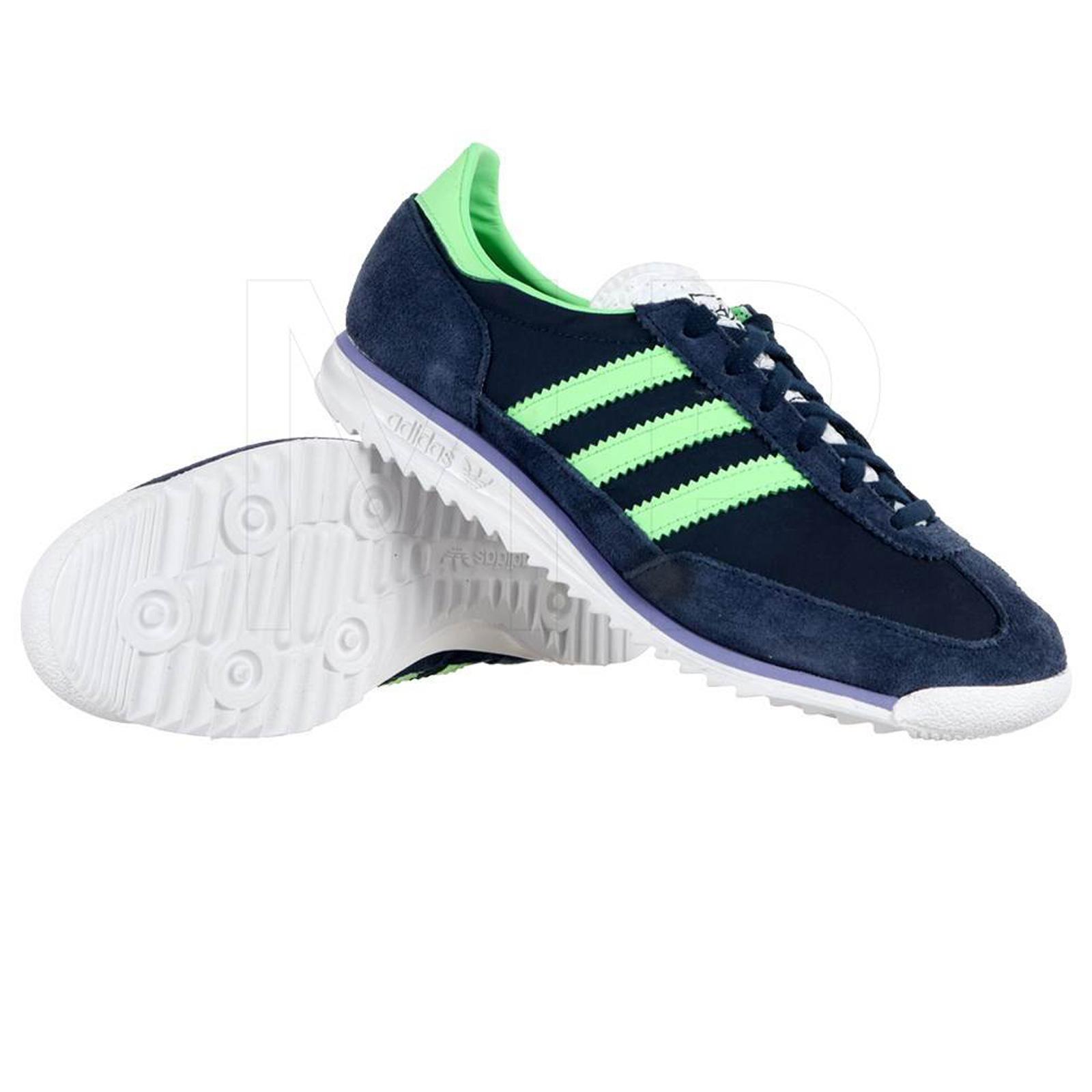 adidas Originals SL 72 Damen Sneaker Freizeit Turnschuhe M19226 Laufschuhe Navy