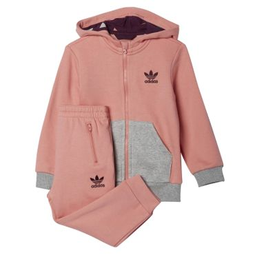 ADIDAS ORIGINALS Hooded Flocked Suit – Bild 1
