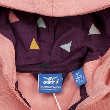 ADIDAS ORIGINALS Hooded Flocked Suit – Bild 4