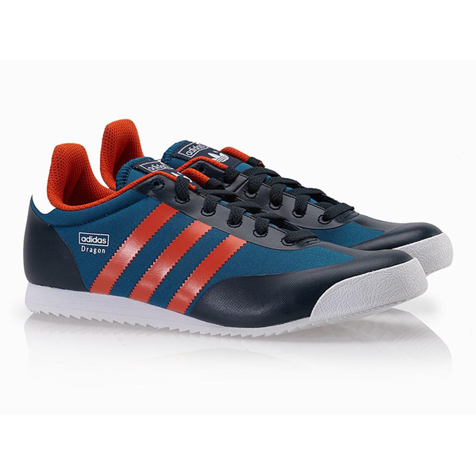 buy popular 2d0f9 566fb adidas Originals Dragon Damen Schuhe Freizeit Sneaker M17095 Blau Petrolink