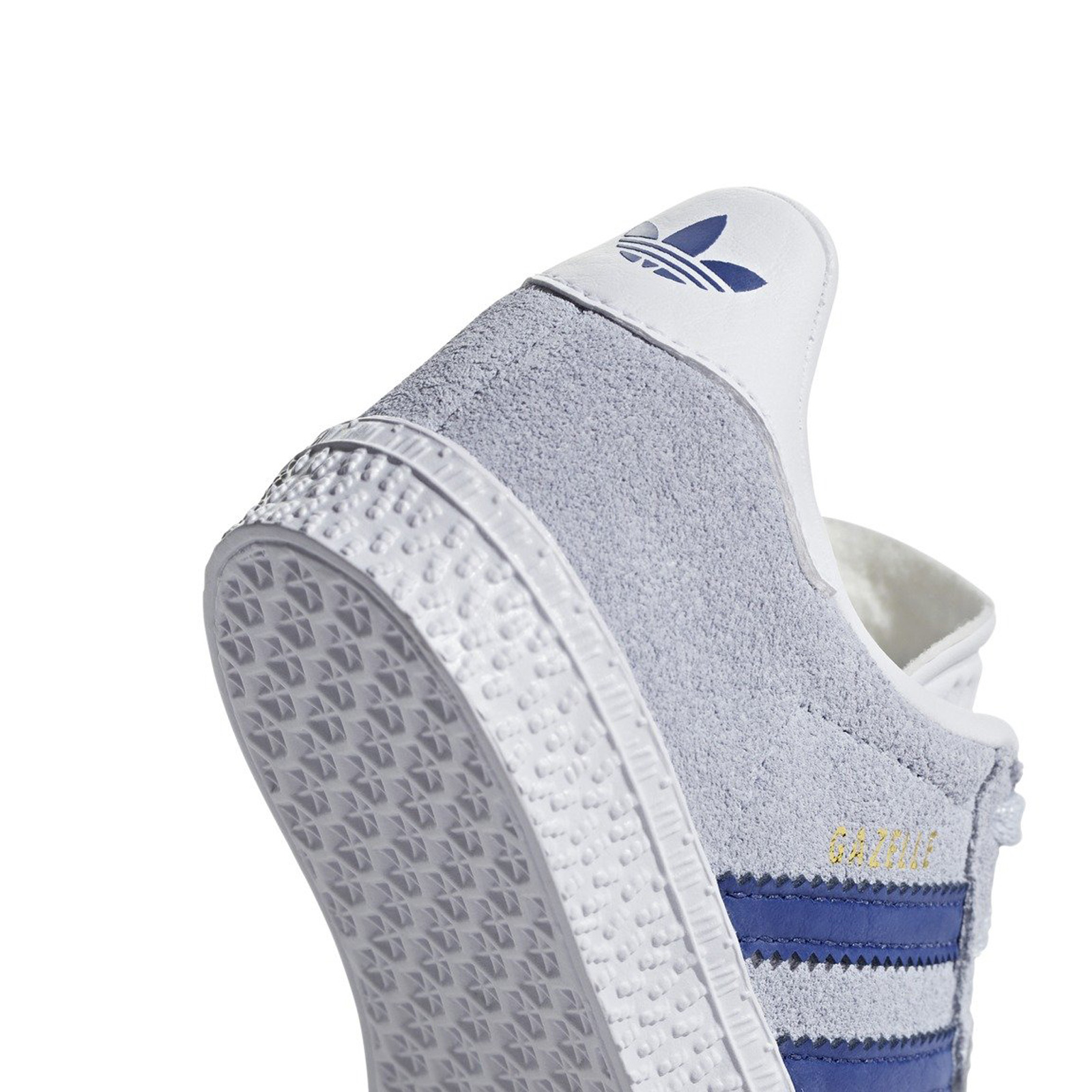 Hellblau Leder Blau Gazelle Sneaker Originals Adidas Kinder