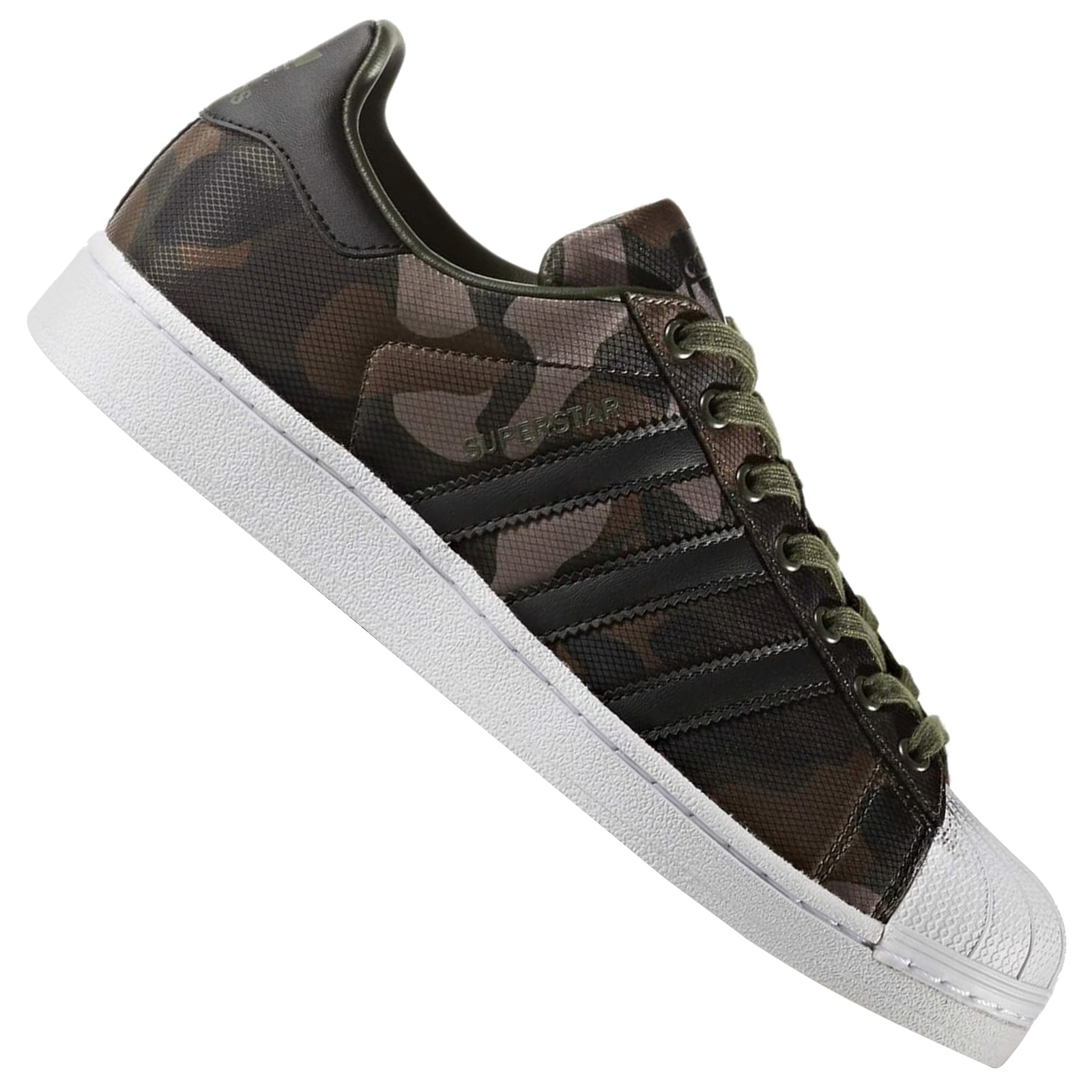 adidas superstar camouflage sneakers