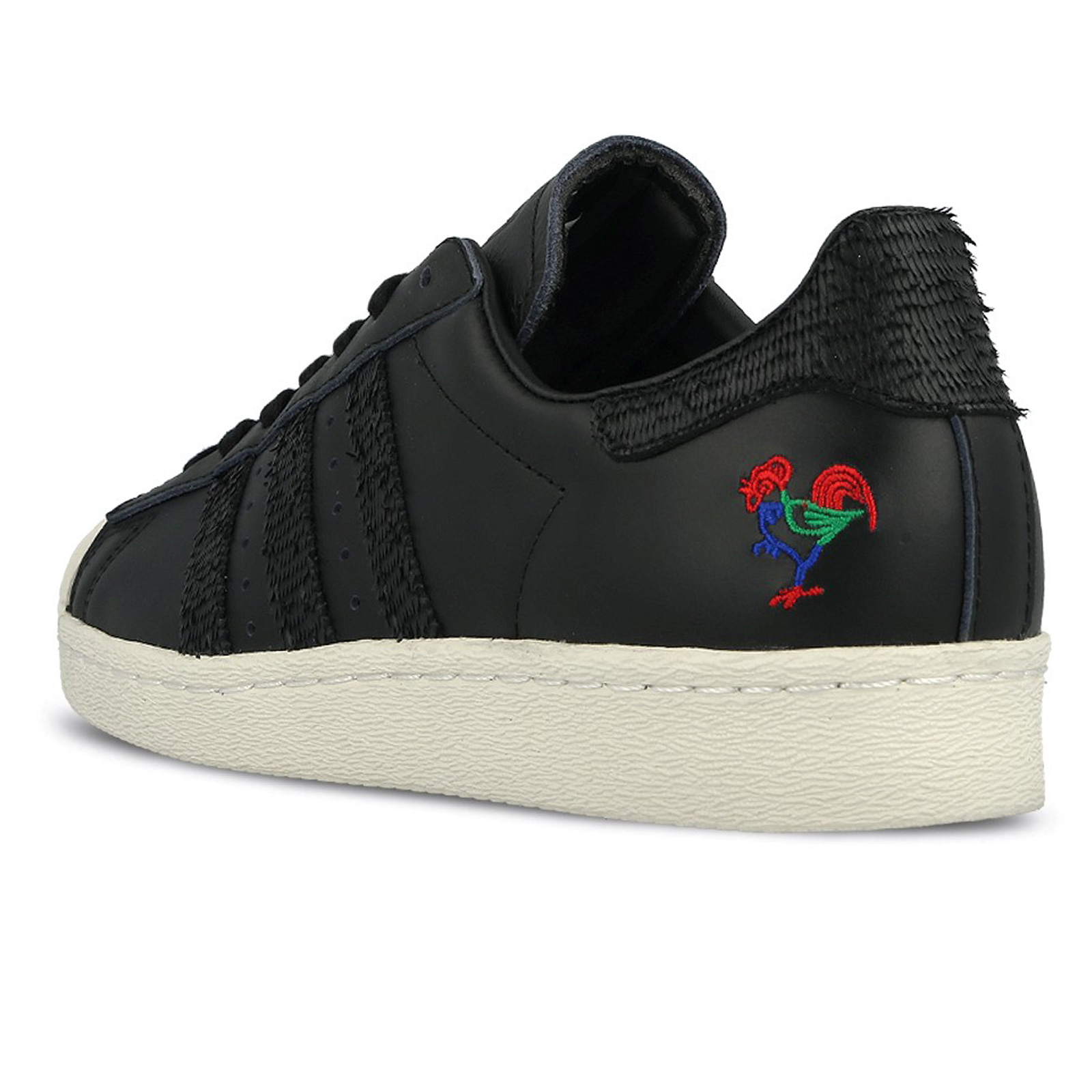 Détails sur Adidas Superstar 80s Cny Chinoise Neuf Year Baskets Lim. Édition Noir BA7778