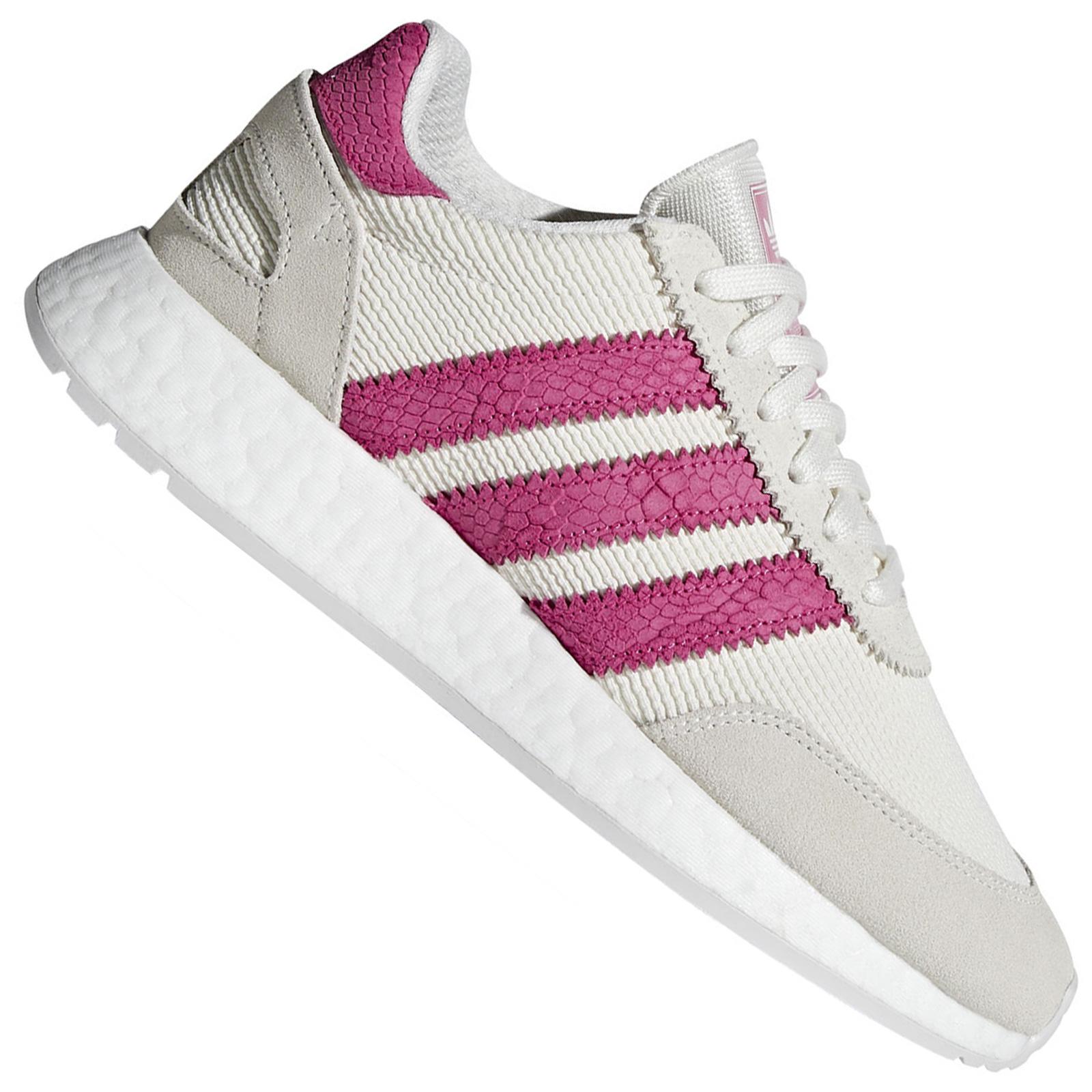 adidas Damen Iniki Runner I 5923 Sneaker Turnschuhe Sportschuhe Weiß Shock Pink