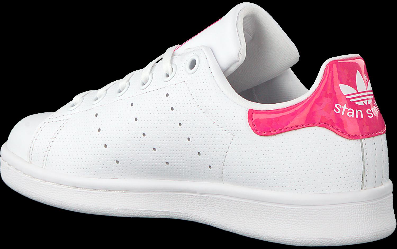 Détails sur Adidas Original Stan Smith Baskets Femme Chaussures DB1207 Cuir Blanc Glacé Rose