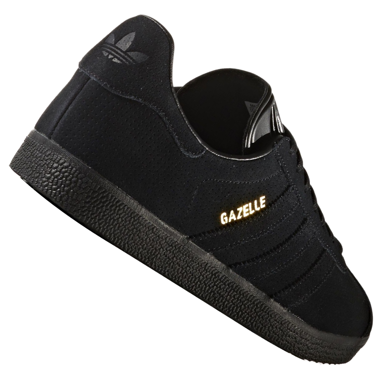 Adidas Black Show Original Gazelle Leather Retro All Sneaker About Details Trainers Title BrxdCoe
