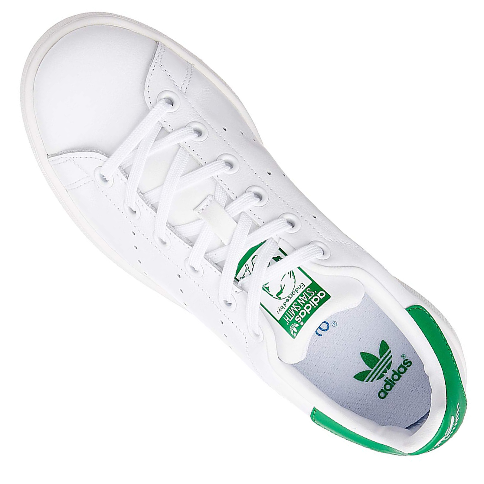 official photos d1bd6 bf105 adidas Originals Stan Smith Damen Sneaker Schuhe S81857 Leder Weiß Grün 40