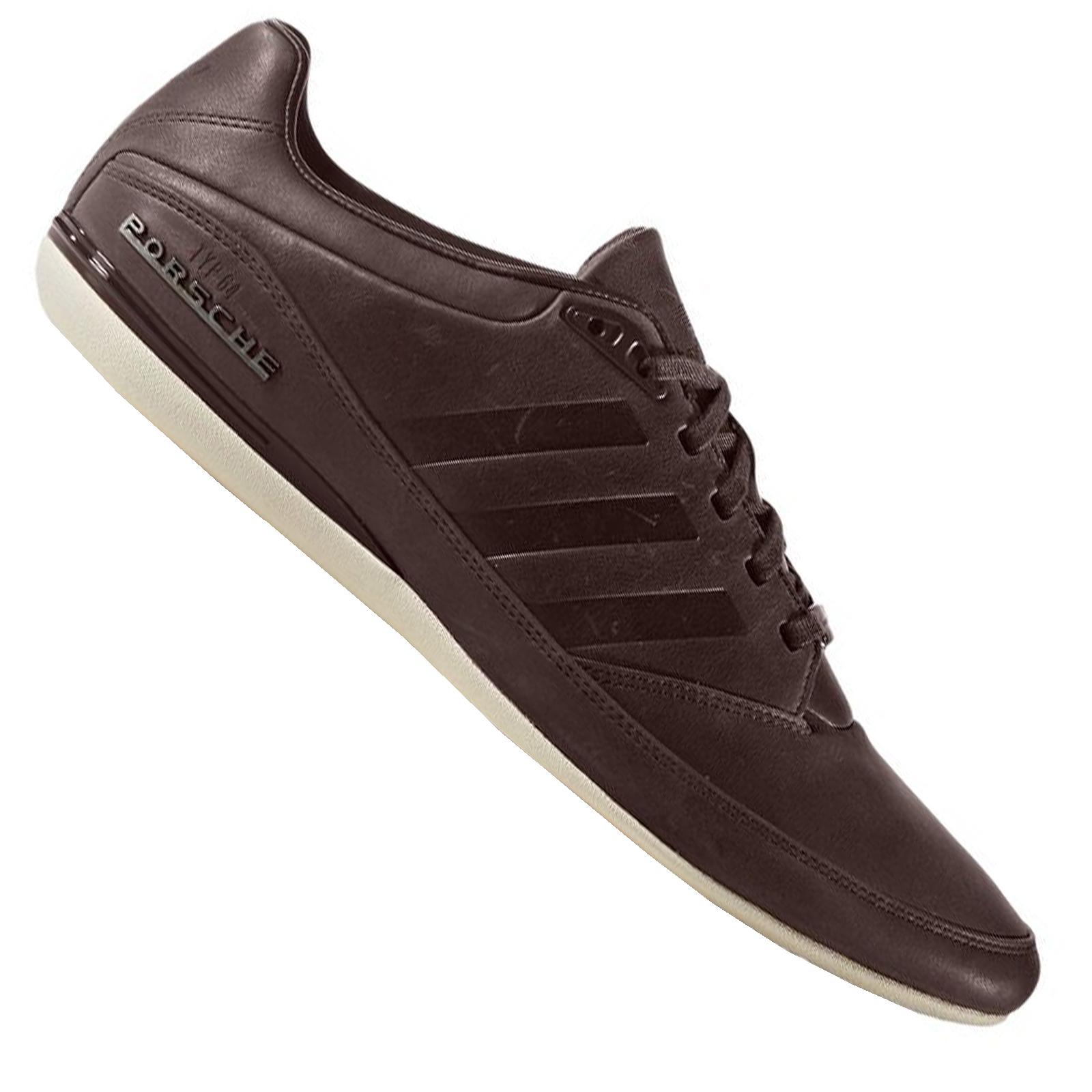 Details zu adidas Originals Porsche Design Typ 64 Schuhe Herren Leder Sneaker Braun BB1149
