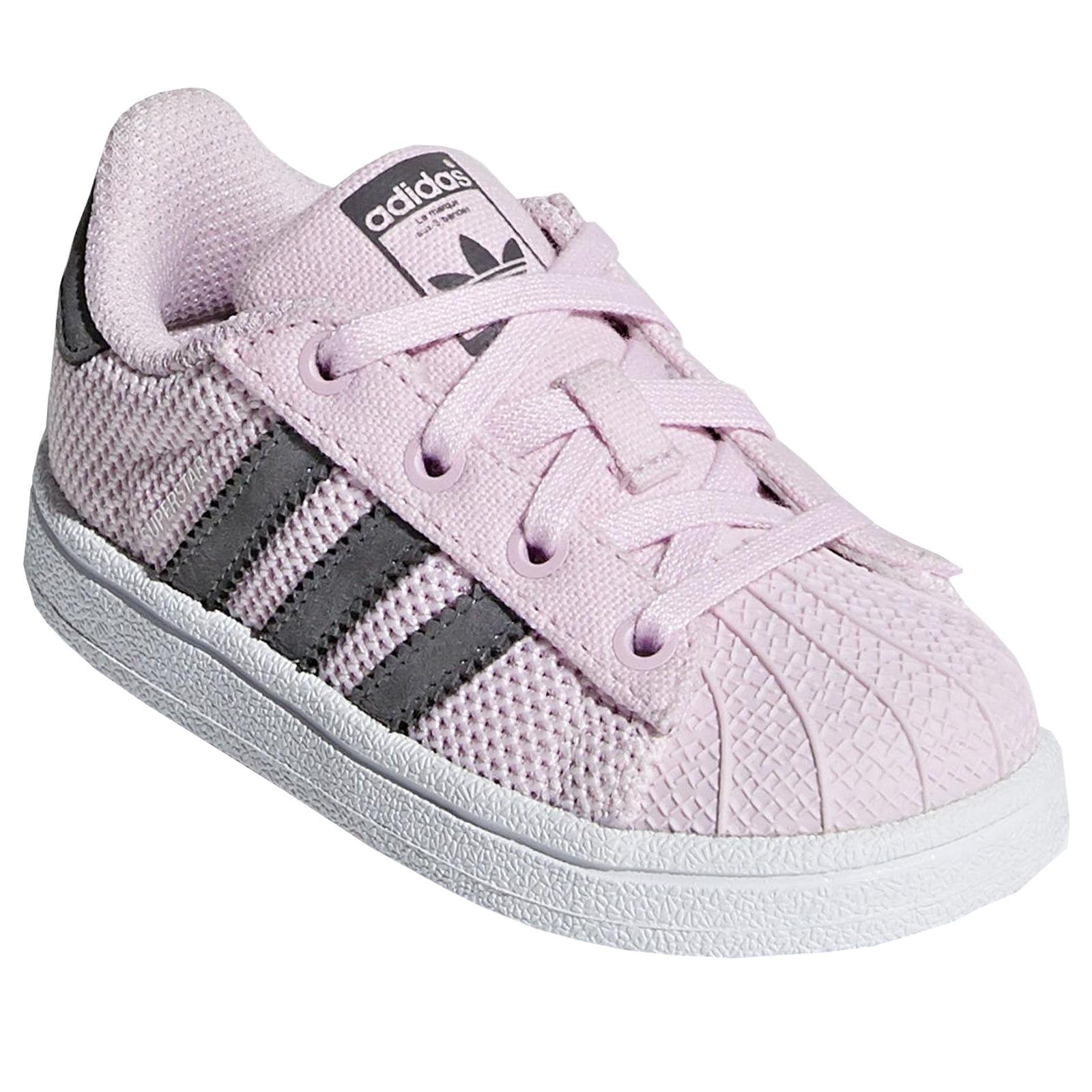 zapatillas adidas superstar niña rosa