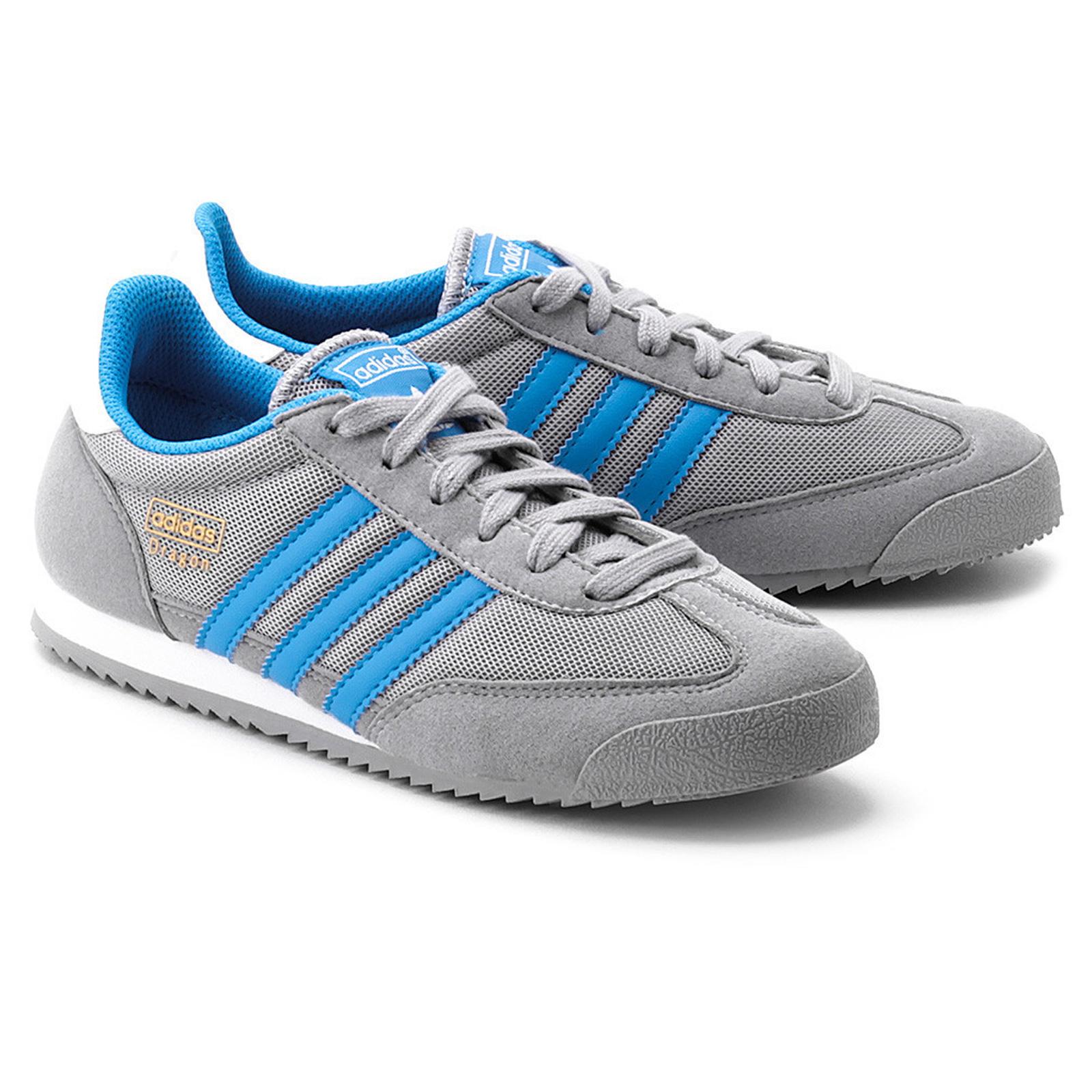 Details zu adidas Originals Dragon Schuhe Sneaker Leder Turnschuhe Klassiker Weiß Schwarz