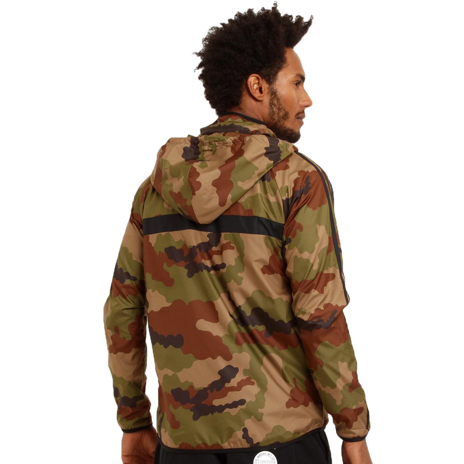 adidas jacke gelb camouflage