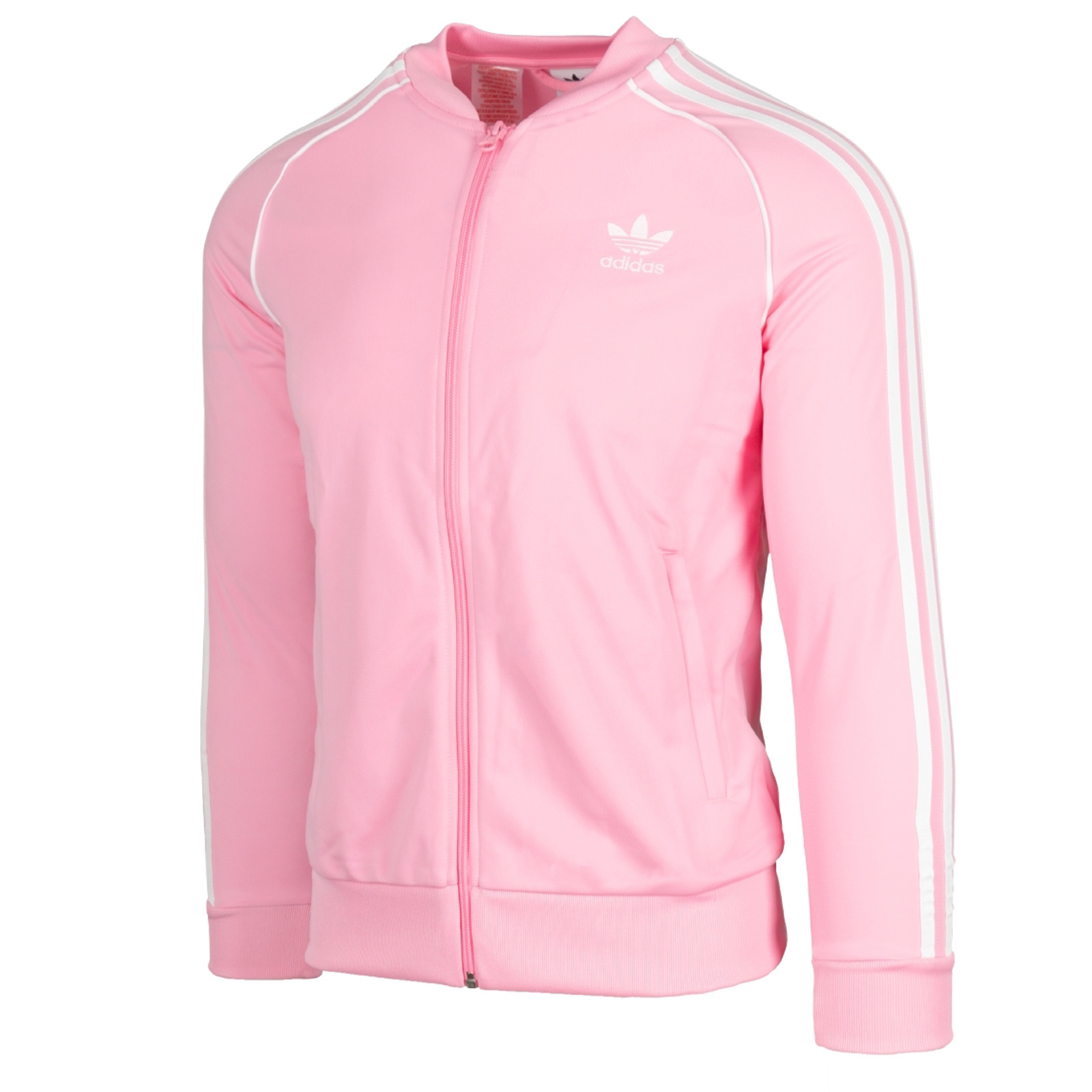 Details about Adidas Children's Girl's Superstar Tt Sweater Jacket Sports Training Pink