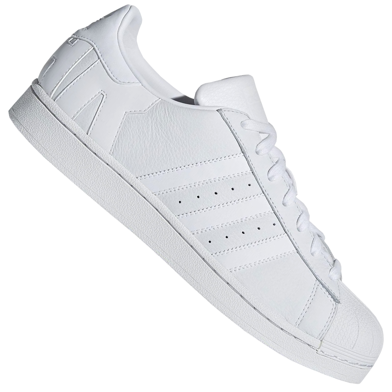 Details about Adidas Originals Superstar Women's Sneaker Trainers Super & Star Logo White