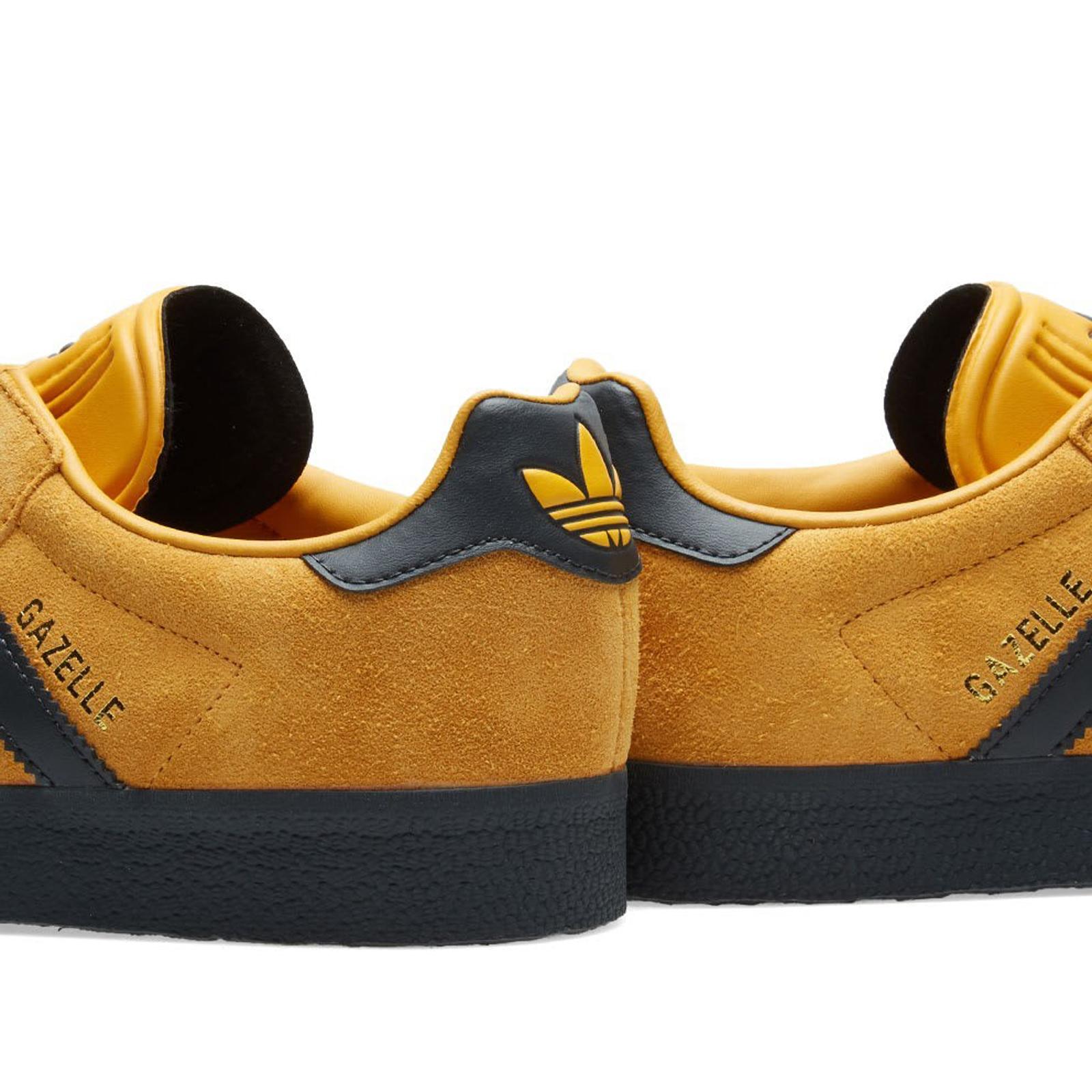 adidas gazelle amarillo negro