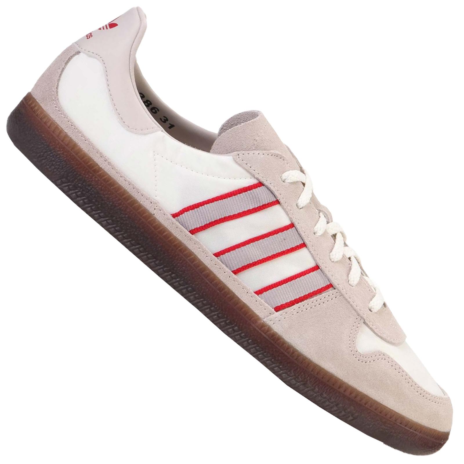 adidas schuh player retro weiss grau