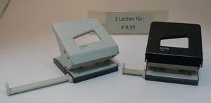 Leitz 5008 Locher DIN A4 2 Löcher 2-er Set