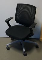Klöber Veo 87 Bürodrehstuhl schwarz Netzrücken Drehstuhl Veo87