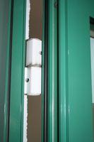 Klauke Tür, Objekttür, HxB ca. 207x98cm, Aluminium, Rauchschutz RS-1, DIN-Rechts – Bild 7