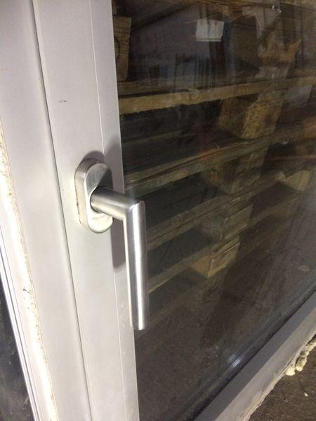 Aluminium-Fenster incl Rahmen,1 Flügel, HxB ca.129x124,Dreh Kipp,DIN-Rechts – Bild 4