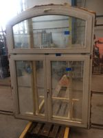 Holzfenster ca. 176x146cm, Doppelverglasung, mit Oberlicht, Dreh-Kipp