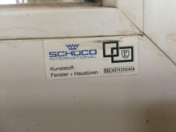Schüco Tür für Balkon, Kunststoff, HxB ca. 226x113,5cm, DIN-Links, Dreh-Kipp – Bild 4