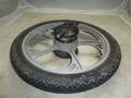 Felge mit Reifen Hinten für Mofa Tomos Flexer 25