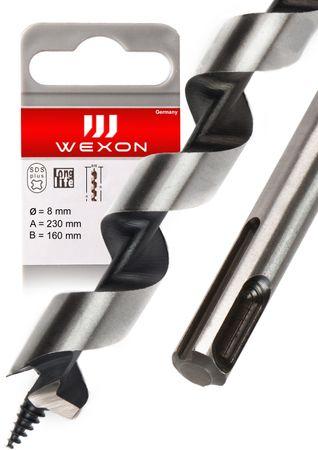 WEXON Schlangenbohrer , 230 mm, 460 mm , 600 mm,  SDS plus 6 / 8 / 10 / 12 / 14 / 16 / 18 / 20 / 25 / 32 / 40 mm – Bild 3