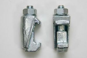 ISO-K Klammerschraube Spannpratze Vakuum - M10 Stahl verzinkt DN63-250