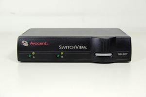 AVOCENT - SwitchView 2-Port PS2 KVM - 520-194-005 – Bild 1