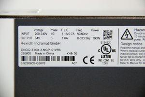 REXROTH EcoDrive Cs - DKC02.3-004-3-MGP-01VRS - 84V 0,1kW Frequenzumrichter MGP – Bild 2