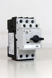 SIEMENS - Leistungsschalter 4,5-6,3A - 3RV1021-1GA10 + Hilfsschalter 3RV1901-1E