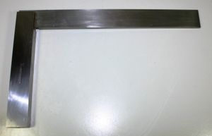 Flachwinkel - Schlosserwinkel - Anschlagwinkel Stahlwinkel - 90° - 400x250 mm