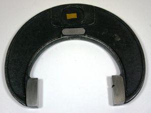 einseitige Rachenlehre Grenzlehre Grenzrachenlehre - 115 mm f7