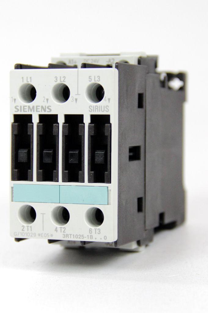 SIEMENS 3RT1025-1BB40 Schütz Leistungsschütz AC-3 7,5 KW/400V DC24V